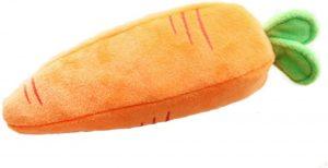 Peluche de Zanahoria de 23 cm - Los mejores peluches de zanahorias - Peluches de frutas y verduras
