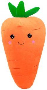 Peluche de Zanahoria de 55 cm - Los mejores peluches de zanahorias - Peluches de frutas y verduras