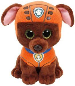 Peluche de Zuma de la Patrulla Canina de 15 cm de Ty - Los mejores peluches de la Patrulla Canina - Peluches de la Patrulla Canina