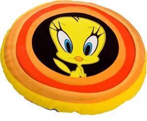 Peluche de cojín piolín de 35 cm - Los mejores peluches de Piolín de los Looney Tunes - Peluches de dibujos animados
