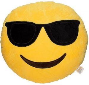 Peluche de emoticono de gafas de sol de 30 cm - Los mejores peluches de emojis - emoticonos - Peluches de emojis