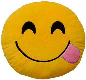 Peluche de emoticono de lengua de 30 cm - Los mejores peluches de emojis - emoticonos - Peluches de emojis