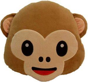 Peluche de emoticono de mono de 30 cm - Los mejores peluches de emojis - emoticonos - Peluches de emojis