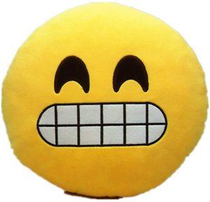 Peluche de emoticono de sonrisa de 30 cm - Los mejores peluches de emojis - emoticonos - Peluches de emojis