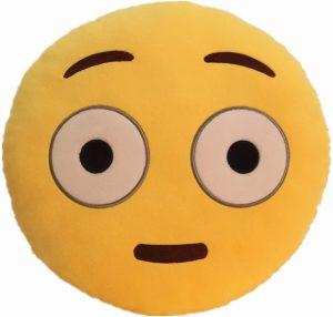 Peluche de emoticono de sorpresa de 30 cm - Los mejores peluches de emojis - emoticonos - Peluches de emojis