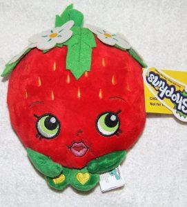 Peluche de fresa de 15 cm - Los mejores peluches de fresas - Peluches de frutas y verduras