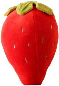 Peluche de fresa de 18 cm - Los mejores peluches de fresas - Peluches de frutas y verduras