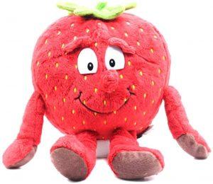 Peluche de fresa de 25 cm - Los mejores peluches de fresas - Peluches de frutas y verduras