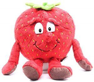 Peluche de fresa de 30 cm - Los mejores peluches de fresas - Peluches de frutas y verduras