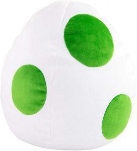 Peluche de huevo de Yoshi de 38 cm de Mario Bros de Nintendo - Los mejores peluches de Yoshi - Peluches de personajes del dinosaurio Yoshi