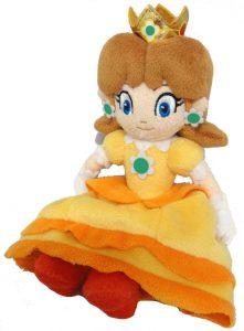 Peluche de la princesa Daisy de 22 cm de Nintendo - Los mejores peluches de Daisy de Super Mario - Peluches de personaje de Mario