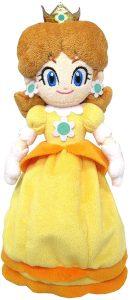 Peluche de la princesa Daisy de 25 cm de Nintendo 2 - Los mejores peluches de Daisy de Super Mario - Peluches de personaje de Mario