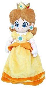 Peluche de la princesa Daisy de 25 cm de Nintendo - Los mejores peluches de Daisy de Super Mario - Peluches de personaje de Mario