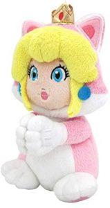 Peluche de la princesa Peach de 19 cm de Nintendo - Los mejores peluches de Peach de Super Mario - Peluches de personaje de Mario