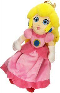 Peluche de la princesa Peach de 23 cm de Nintendo - Los mejores peluches de Peach de Super Mario - Peluches de personaje de Mario