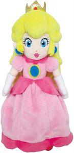 Peluche de la princesa Peach de 25 cm de Nintendo - Los mejores peluches de Peach de Super Mario - Peluches de personaje de Mario