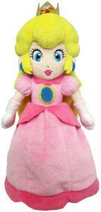 Peluche de la princesa Peach de 26 cm de Nintendo - Los mejores peluches de Peach de Super Mario - Peluches de personaje de Mario