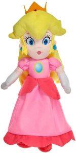 Peluche de la princesa Peach de 35 cm de Nintendo - Los mejores peluches de Peach de Super Mario - Peluches de personaje de Mario