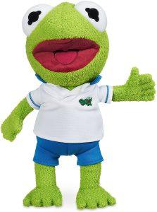 Peluche de la rana Gustavo de 28 cm 2 - Los mejores peluches de la rana Gustavo - Peluches de personajes de Kermit