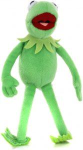 Peluche de la rana Gustavo de 31 cm - Los mejores peluches de la rana Gustavo - Peluches de personajes de Kermit