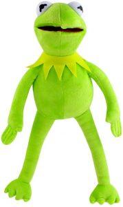 Peluche de la rana Gustavo de 40 cm - Los mejores peluches de la rana Gustavo - Peluches de personajes de Kermit