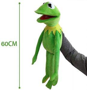 Peluche de la rana Gustavo de 60 cm de Kermit - Los mejores peluches de la rana Gustavo - Peluches de personajes de Kermit
