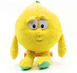 Peluche de limón de 25 cm - Los mejores peluches de limones - Peluches de frutas y verduras