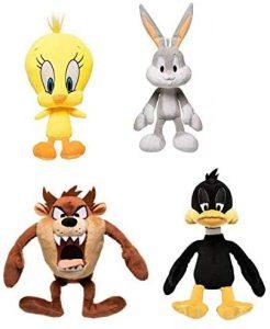 Peluche de pack de los Looney Tunes de 25 cm - Los mejores peluches de los Looney Tunes - Peluches de dibujos animados