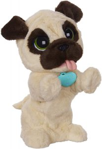 Peluche de perro JJ de 40 cm - Los mejores peluches de Furreal Friends - Peluches de animales de Furreal Friends - El oso curioso