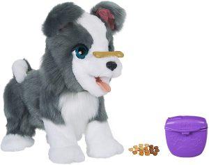Peluche de perro Ricky mi perrito listo de 40 cm - Los mejores peluches de Furreal Friends - Peluches de animales de Furreal Friends - Mi perrito listo