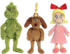 Peluche de personajes del Grinch de 38 cm - Los mejores peluches de Grinch - Peluches de Grinch