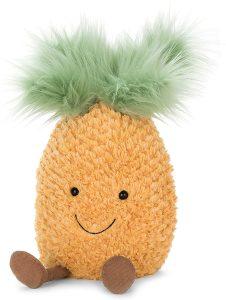Peluche de piña de 23 cm - Los mejores peluches de piñas - pineapples - Peluches de frutas y verduras