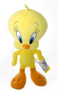 Peluche de piolín de 35 cm - Los mejores peluches de Piolín de los Looney Tunes - Peluches de dibujos animados