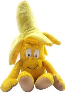 Peluche de plátano de 25 cm - Los mejores peluches de plátanos - Peluches de frutas y verduras