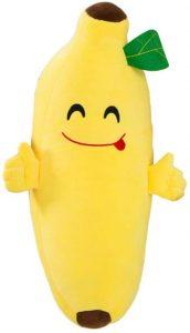 Peluche de plátano de 40 cm - Los mejores peluches de plátanos - Peluches de frutas y verduras