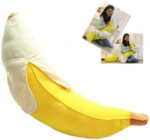 Peluche de plátano de 45 cm - Los mejores peluches de plátanos - Peluches de frutas y verduras