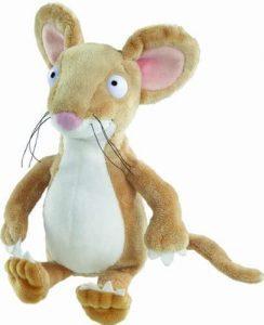 Peluche de ratón de Grúfalo de 21 cm de Aurora - Los mejores peluches de Grufalo - Gruffalo - Peluches de Grufalo