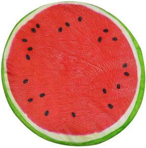 Peluche de sandía de 33 cm - Los mejores peluches de sandias - watermelon - Peluches de frutas y verduras