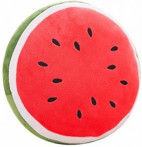 Peluche de sandía de 40 cm 3 - Los mejores peluches de sandias - watermelon - Peluches de frutas y verduras