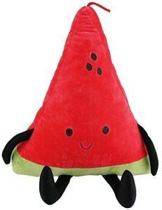 Peluche de sandía de 40 cm - Los mejores peluches de sandias - watermelon - Peluches de frutas y verduras