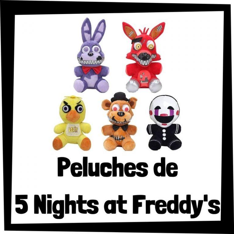 Los mejores peluches de 5 Nights at Freddy's