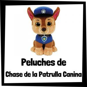 Peluches baratos de Chase de la patrulla canina - Los mejores peluches de Chase - Peluche de la patrulla canina barato