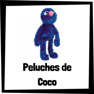 Peluches baratos de Coco de Barrio Sésamo - Los mejores peluches de Coco de Barrio Sésamo - Peluche de Barrio Sésamo barato de felpa