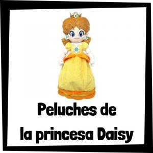 Peluches baratos de Daisy de Nintendo - Los mejores peluches de la princesa Daisy - Peluches de personajes de Mario Bros
