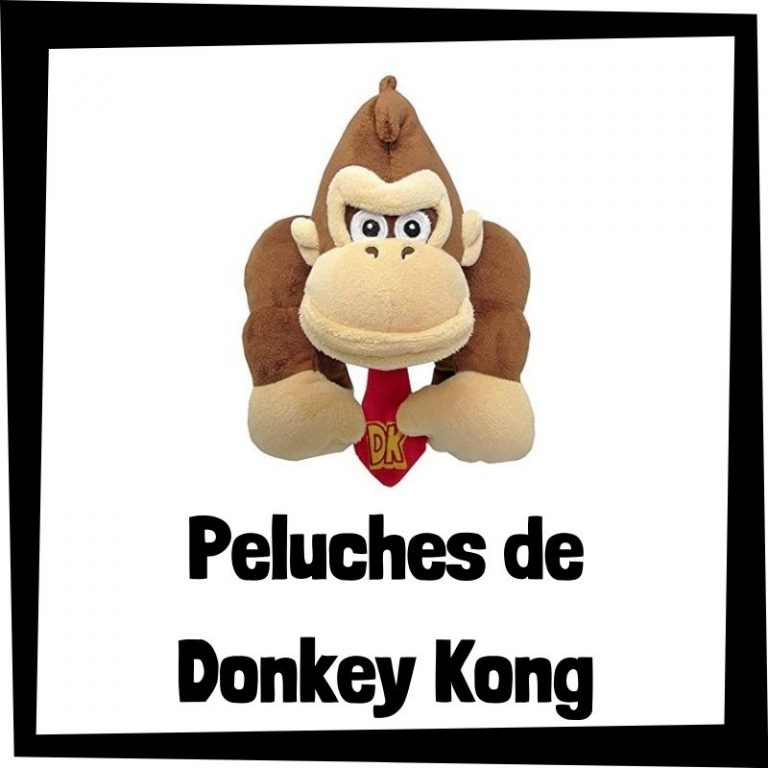 Lee más sobre el artículo Los mejores peluches de Donkey Kong