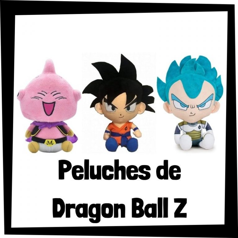 Los mejores peluches de Dragon Ball Z