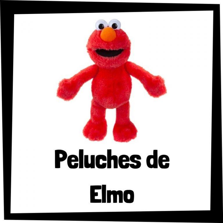 Los mejores peluches de Elmo de Barrio Sésamo