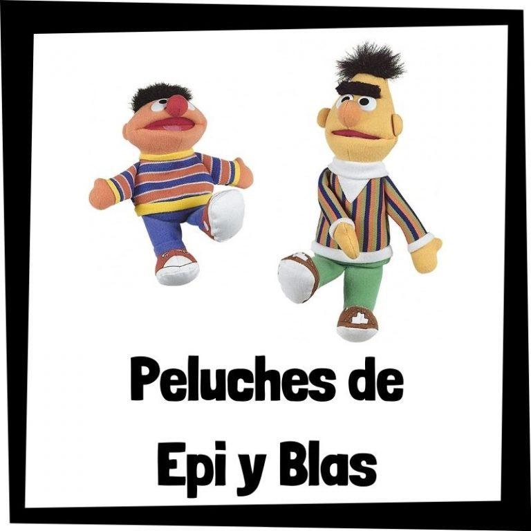 Los mejores peluches de Epi y Blas de Barrio Sésamo