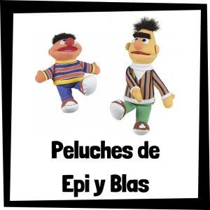 Peluches baratos de Epi y Blas de Barrio Sésamo - Los mejores peluches de Epi y Blas de Barrio Sésamo - Peluche de Barrio Sésamo barato de felpa