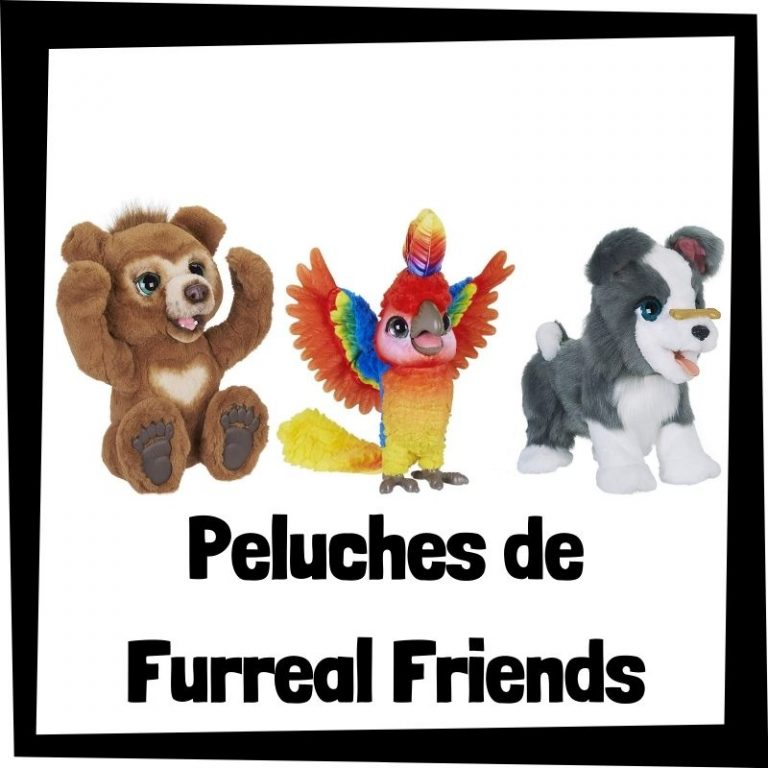 Los mejores peluches de Furreal Friends